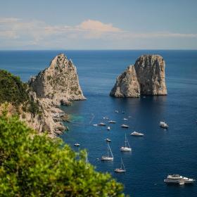 montascale a Capri