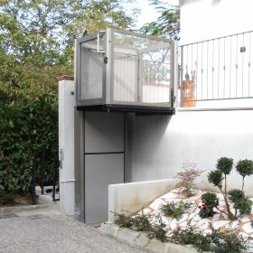 elevatore Opal per disabili in casa privata
