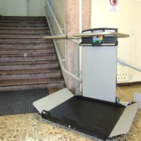 montascale a Trento per disabili a scuola