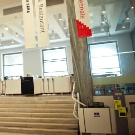 montascale per disabili a Milano al museo della Triennale
