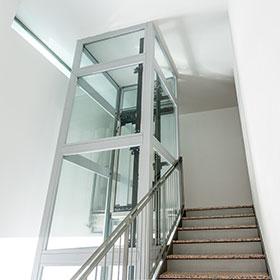 Sostituire una scala a chiocciola con un elevatore for Disegnare una scala a chiocciola con autocad