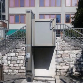Mini ascensore a Trento (modello Opal)