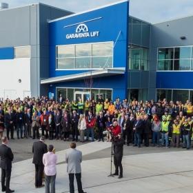 Garaventa lift nuovo stabilimento in Canada per la produzione di elevatori e servoscale