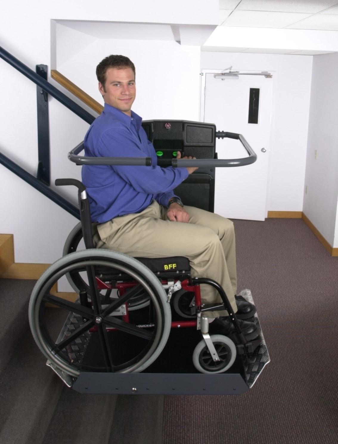 Montascale Per Disabili Che Si Adattano Alla Tua Carrozzina E Sedia