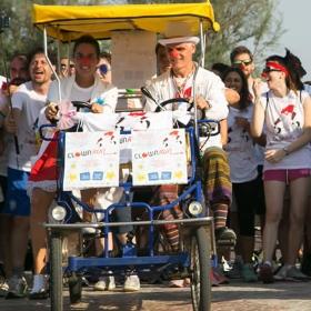 Clown Run e Tour della Salute a Riccione con Garaventa Lift