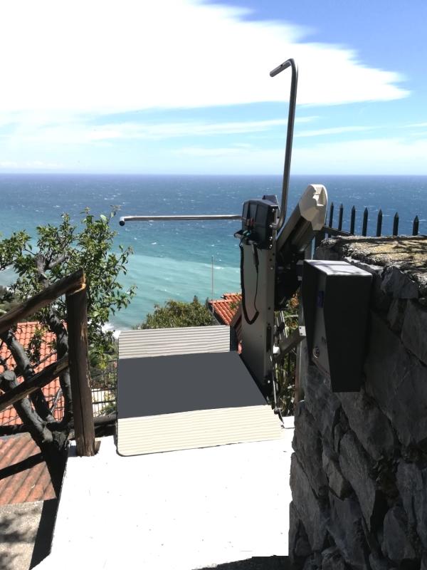 montascale casa al mare x3
