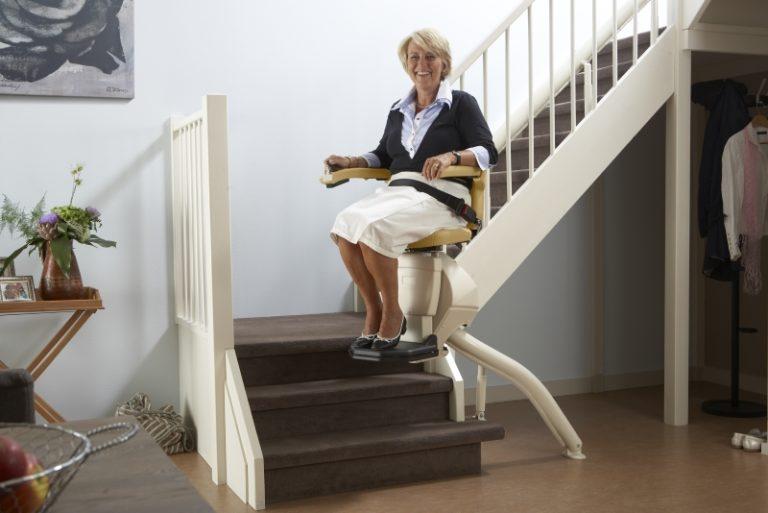 le scale e il montascale