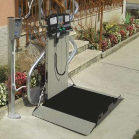 montascale Brescia per disabili scala esterna