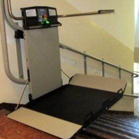Montascale Artira per disabili a Trento