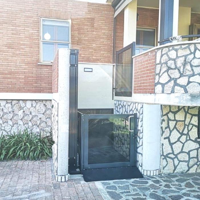ascensore a Latina per terrazzo