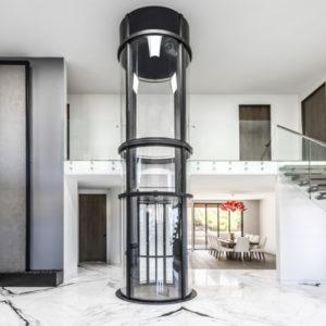 ascensore panoramico Vuelift circolare