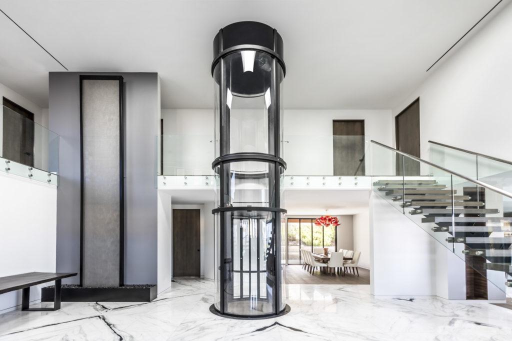 ascensore interno lusso vuelift
