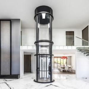 ascensore interno panoramico
