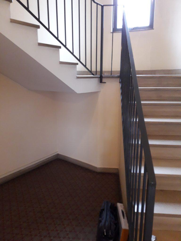 ascensore tromba delle scale condominio