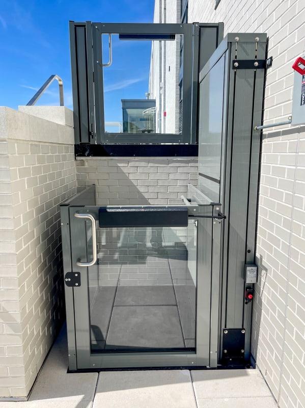 ascensore opal tetto panoramico