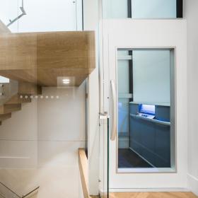 ascensore idraulico elettrico Garaventa Lift