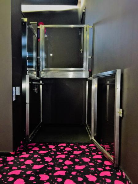 ascensore senza fossa