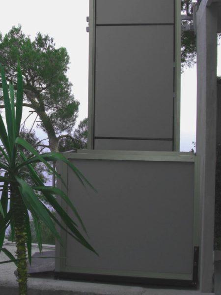 elevatore in liguria per terrazza