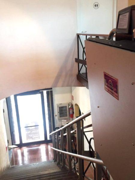 Montascale Artira installato al Museo Genti di Abruzzo in Pescara